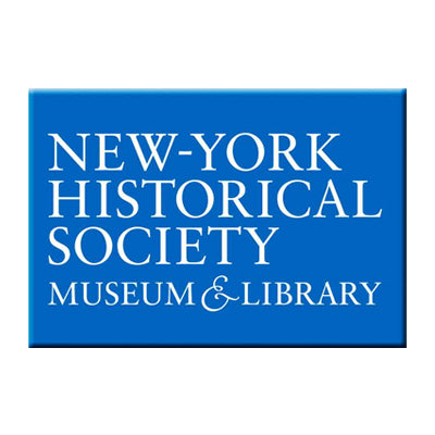Blue New-York Historical Society Magnet