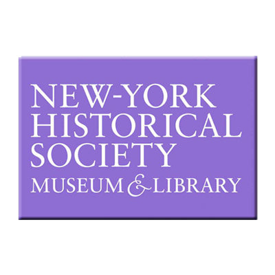Purple New-York Historical Society Magnet
