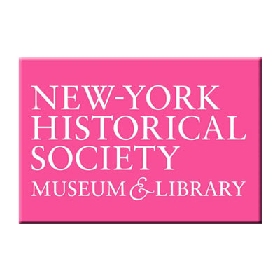 Pink New-York Historical Society Magnet