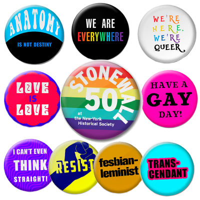 Stonewall Pride Buttons
