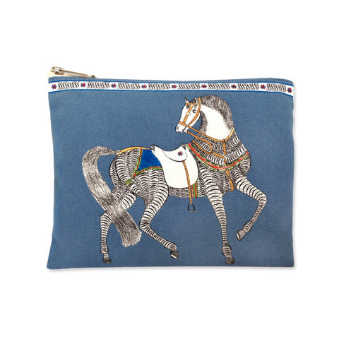 Calligraphic Horse Pouch