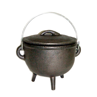 Cast Iron Miniature Cauldron