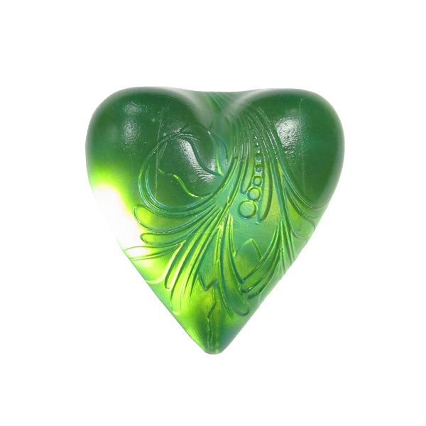 Glass Heart Paper weight by Robin Lehman