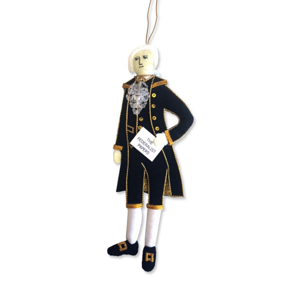 Alexander Hamilton Ornament - New-York Historical Society Museum Store