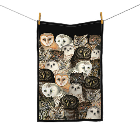 A Parliament of Owls Kitchen Towel