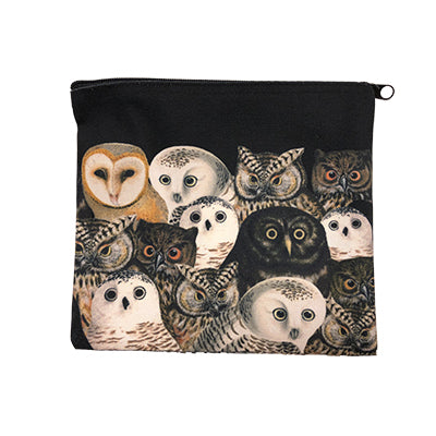 Parliament of Owls Zip Case