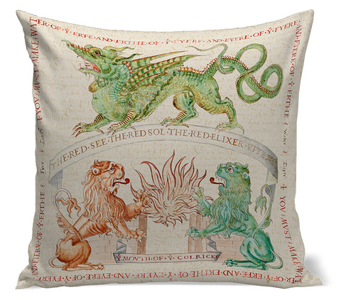 Ripley Scroll Pillow