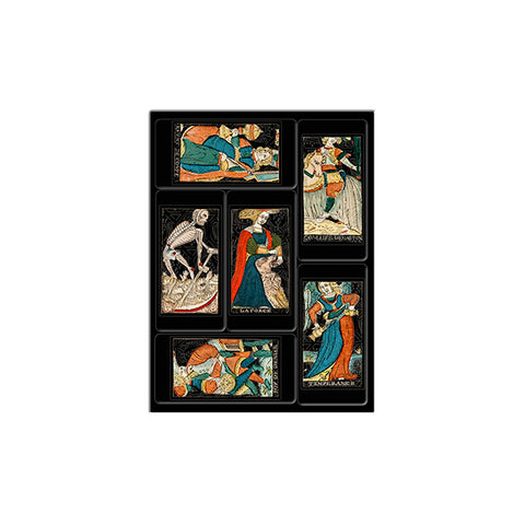 Tarot Mini Magnets - Set of 6