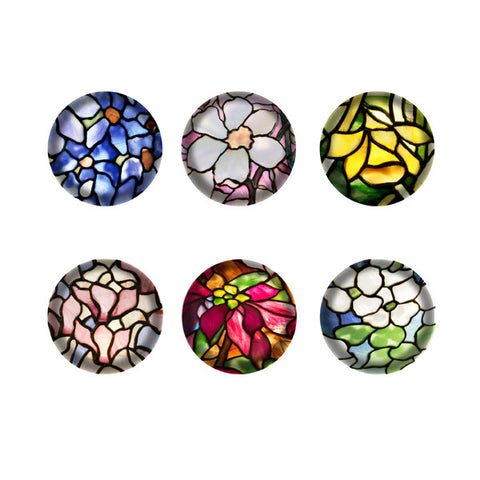 Louis C. Tiffany Domed Magnets
