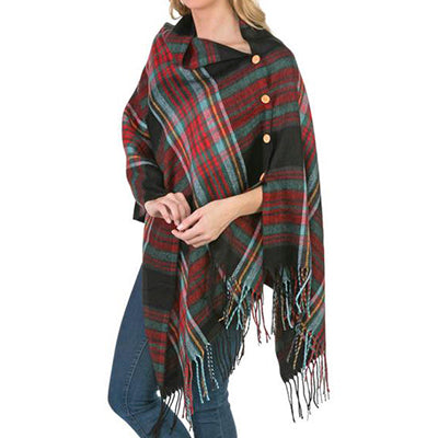 Multi Plaid Wrap