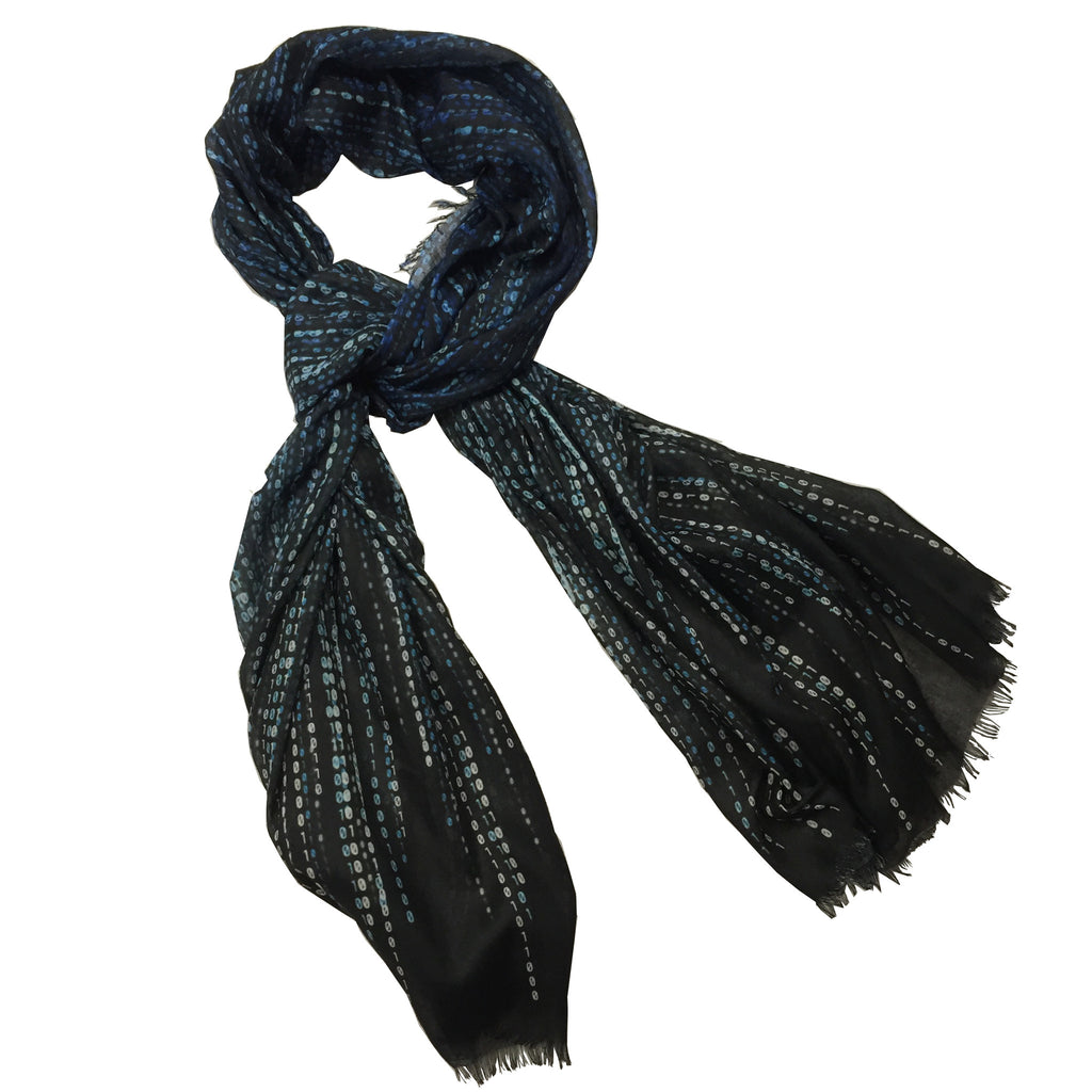 Binary Code Scarf - New-York Historical Society Museum Store