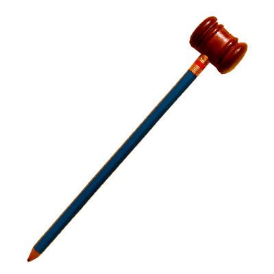 Gavel Pencil