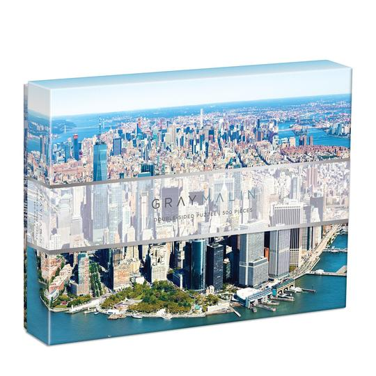 New York City Double Sided Puzzle