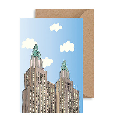 Waldorf Astoria Notecard