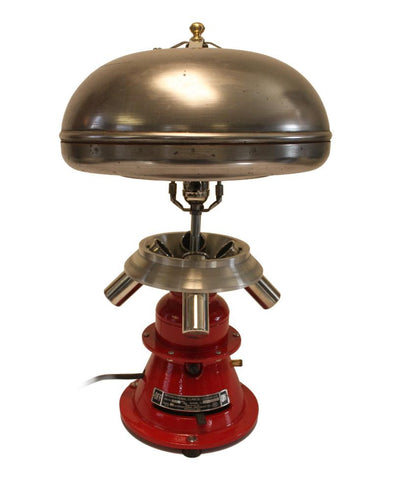 Vintage Re-Purposed Industrial Centrifuge Table/Desk Lamp