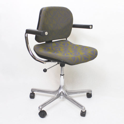 Vintage Mid-Century Modern Euro-Chair Desk Chair by Fritz Makiol for Girsberger