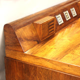 "EXTREMELY RARE 1939 Art Deco Moderne ""Dashboard"" Desk by Count Alexis de Sakhnoffsky"
