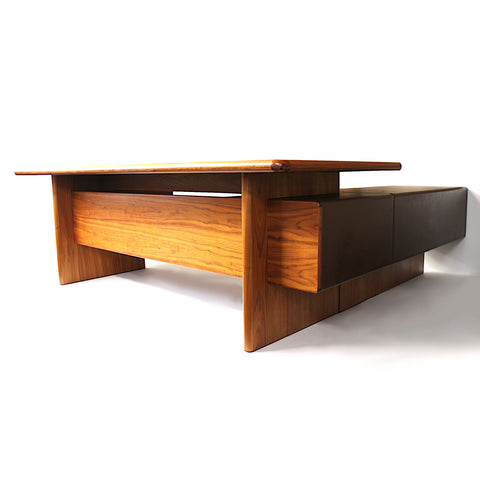 Mid-Century Modern GR90 L-Shaped Executive Desk by Ray Leigh for Gordon Russell