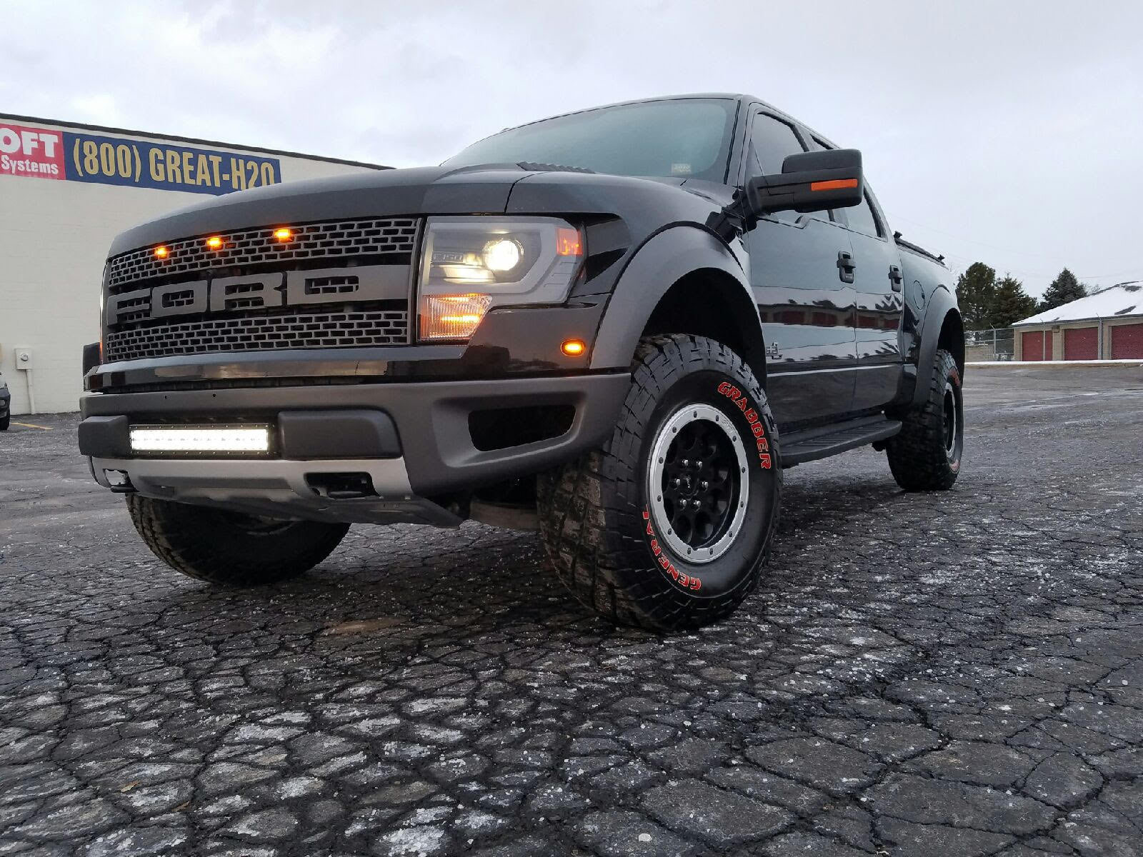Ford F150 Raptor Light Bar Packages Black Oak Led
