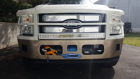 How my LED light bar got me out of a ticket!