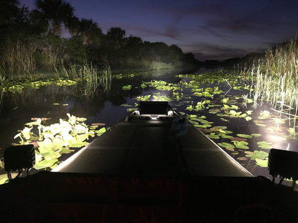 The Three Best Light Options For Your Duck Boat
