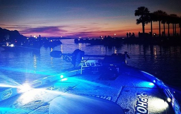 Utilizing LED Rock Lights To Light A Bass Boat Deck