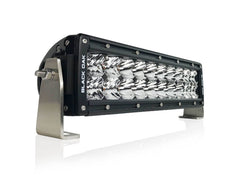 New - 10 Inch Double Row: Black Oak LED Pro Series 2.0 Dual Row LED Light Bar - Combo, Flood, or Spot Optics (60w/100w)