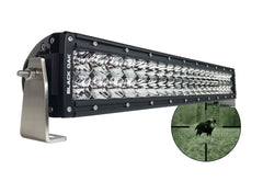 New - 20 Inch 940nm Infrared IR LED Double Row Light Bar - Black Oak LED Pro Series 2.0