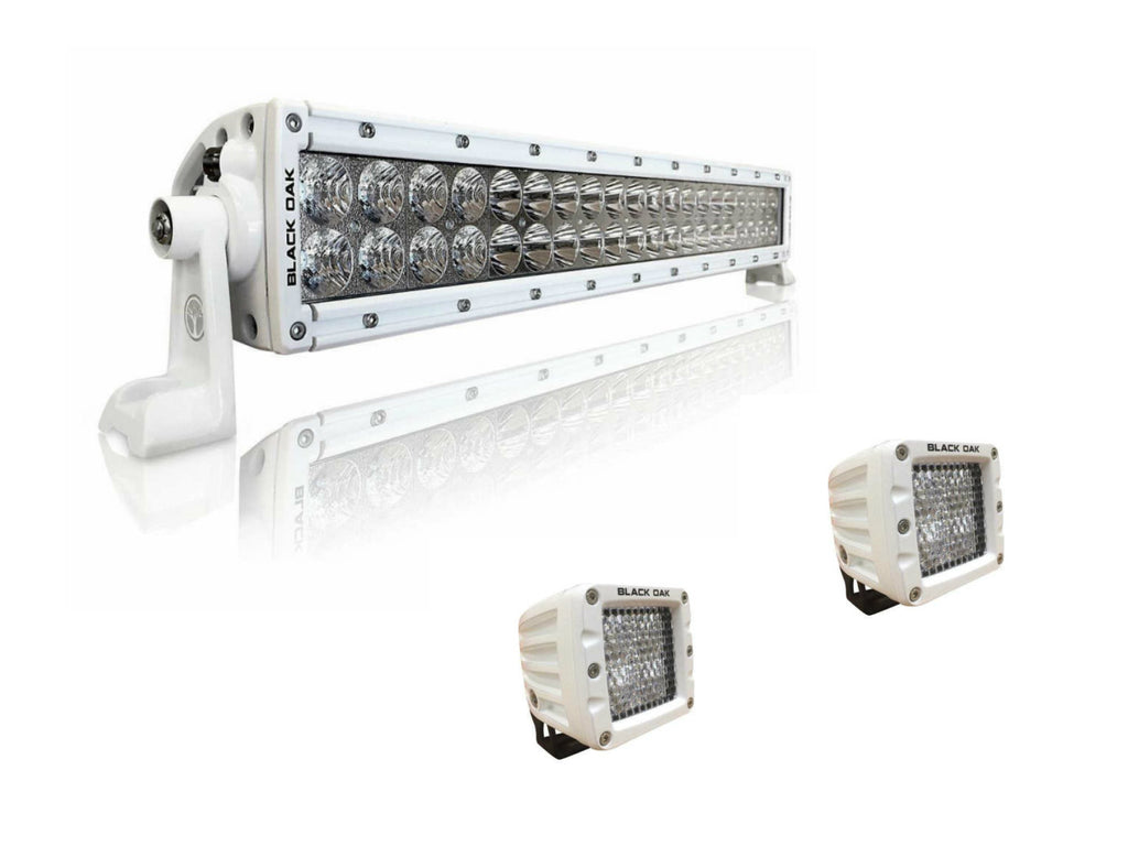 30'' Marine LED Light Bar Kit - 20'' & 2 Pods