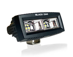 New - 4 Inch Black Marine Spreader Light Scene - Black Oak LED Pro Series 2.0