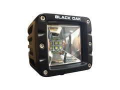 New - 2 Inch Scene POD Light: 10w CREE XM-L2 - Black Oak LED Pro Series 2.0