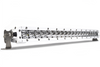 New - 20 Inch Marine Single Row Series: 5 Watt Combo LED Light Bar - Spot & Flood Optics (100w)