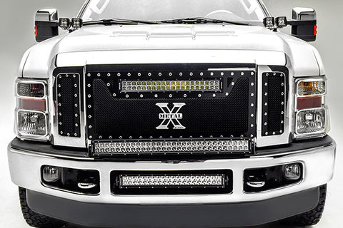 F250 led light bar f250 led light kit f350 light bars 08 10 ford f250f350 20 double row bumper mount mozeypictures Choice Image