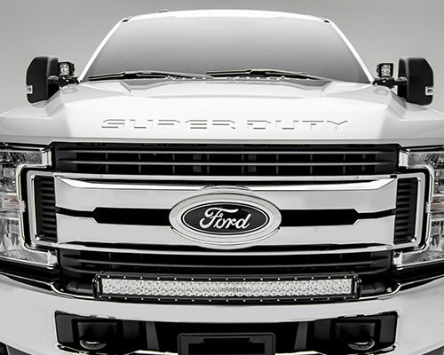 17 19 Ford F250 F350 30 Quot Double Row Curved Bumper