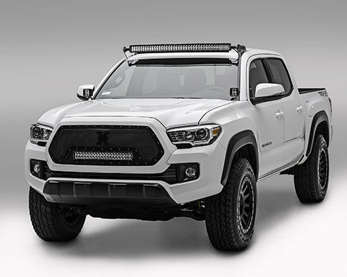Bars In Tacoma >> 05 17 Toyota Tacoma 40 Curved Light Bar Kit