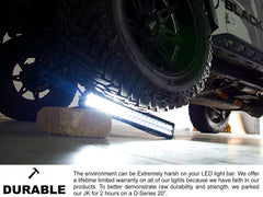New - 30 Inch Double Row Series Curved: Dual Row LED Light Bar - Combo, Spot, or Flood Optics (180w/300w)
