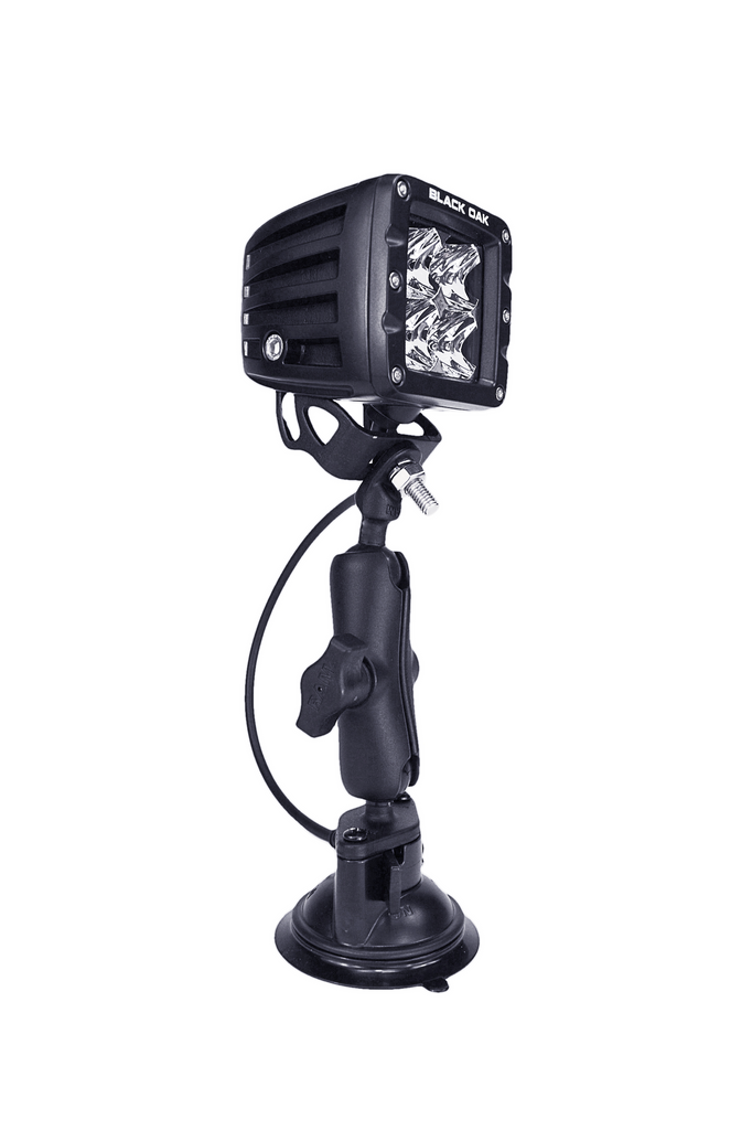 GoPod - Suction Cup Flood Light - Black Oak LED Pro Series 2.0
