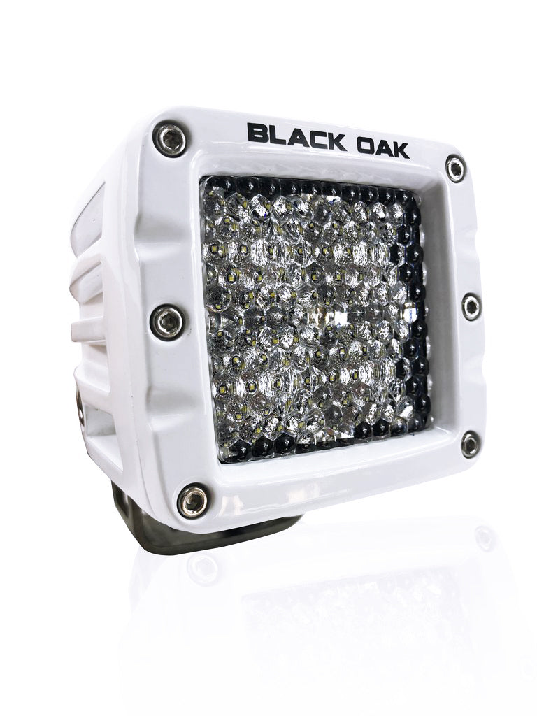New - 2 Inch Marine Diffused Pod Light: Black Oak LED Pro Series 2.0: 10w Cree XM-L2 LEDs!