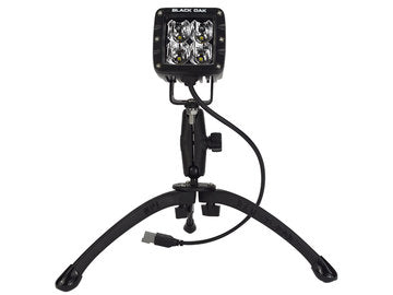 GoPod - Tripod Worksite Light - Black Oak LED Pro Series 2.0