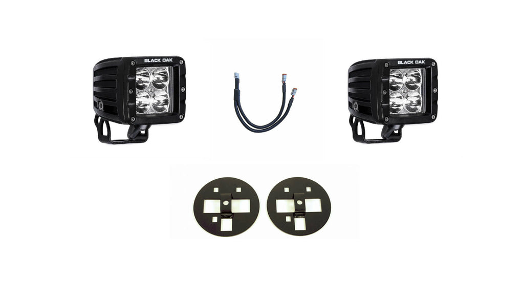 (15-16) Chevy Silverado 2500/3500 - Fog Light Pod Kit