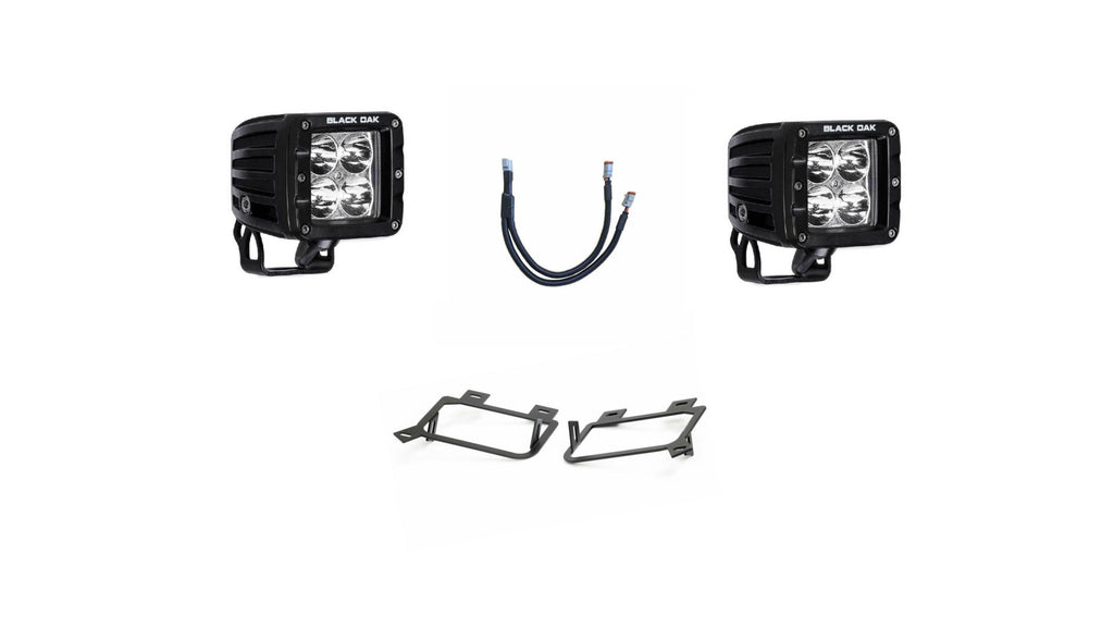 (12-15) Toyota Tacoma - Fog Light Pod Kit