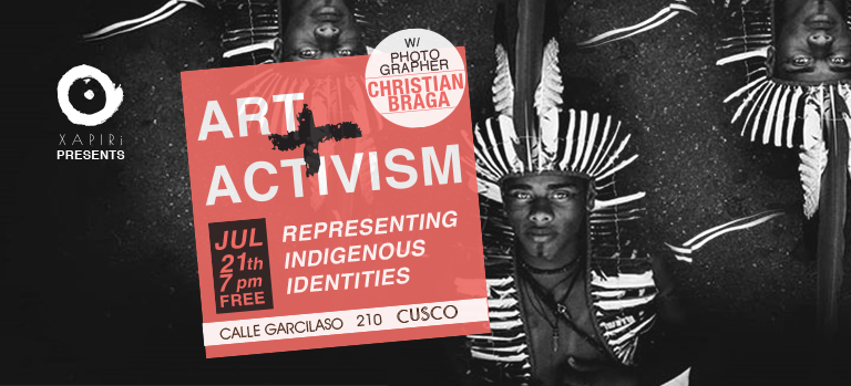 Christian Braga - Art & Activism in Xapiri - Cusco, Peru