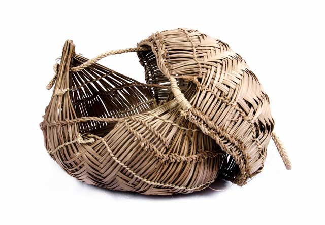 Xavante Basket with Lid