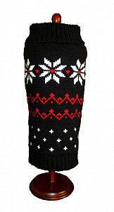 Black Fair Isle Sweater