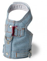 Harness Blue Jean Vest