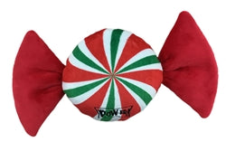Power Plush Twisted Mint Christmas Toy