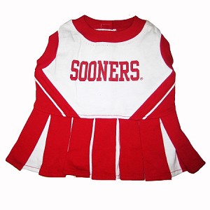 Official NCAA Team Gear - Oklahoma Sooners Jerseys and Cheerleading Dresses