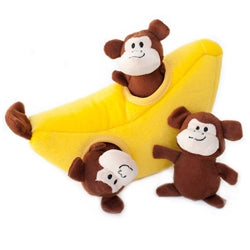 Hide and Seek Monkeys in Banana