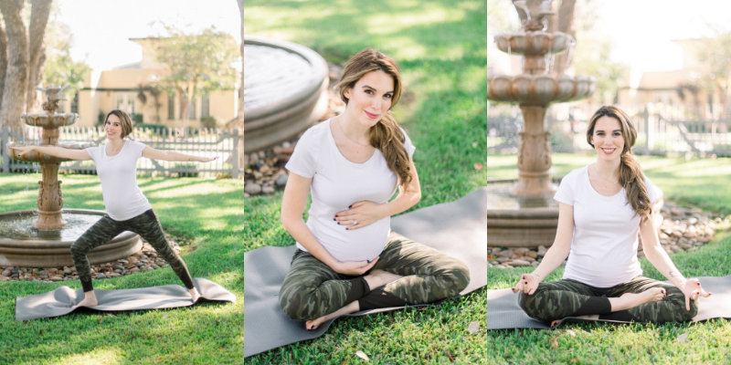 Christy Carlson Romano Yoga Zen Mom Goals