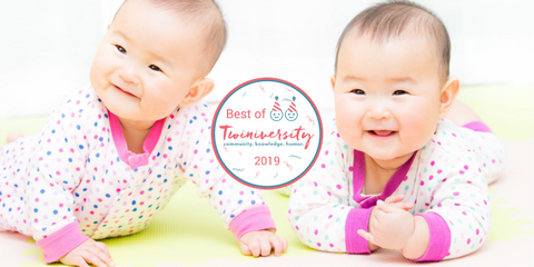 happy twin babies twiniversity award